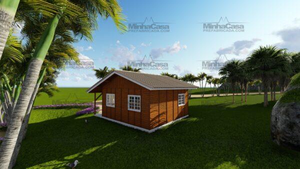 Minha casa pré fabricada modelo Joinville 06