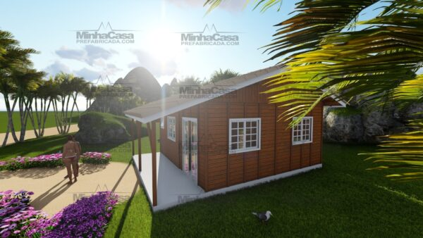 Minha casa pré fabricada modelo Joinville 07