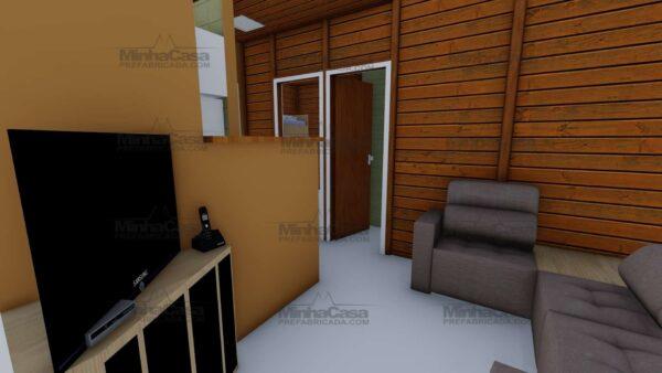 Minha casa pré fabricada modelo Joinville 09
