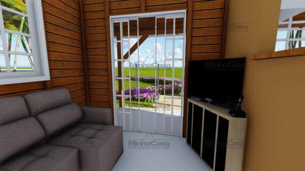 Minha casa pré fabricada modelo Joinville 10