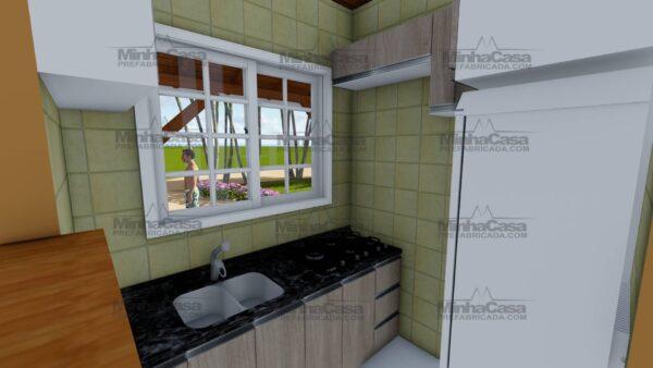 Minha casa pré fabricada modelo Joinville 11