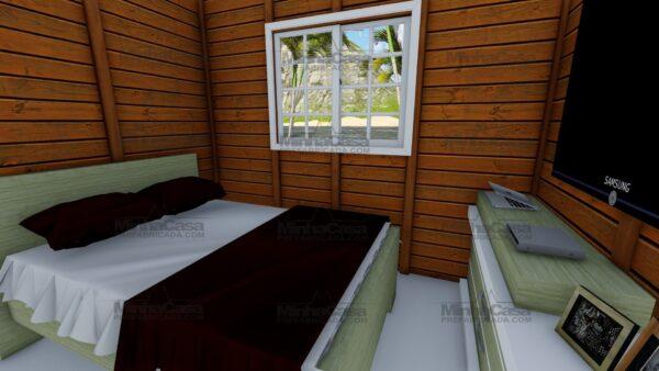 Minha casa pré fabricada modelo Joinville 13