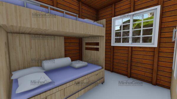 Minha casa pré fabricada modelo Joinville 14