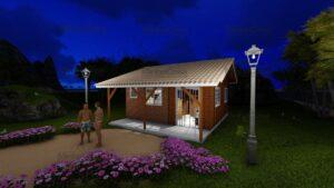 Minha casa pré fabricada modelo Joinville 15