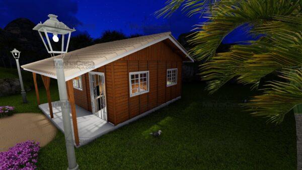 Minha casa pré fabricada modelo Joinville 16