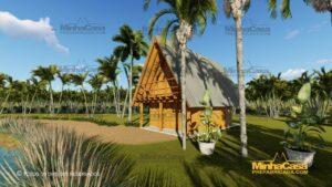 Minha casa pré fabricada modelo Lages 07