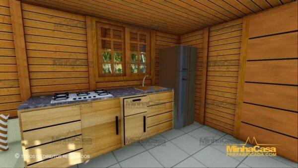 Minha casa pré fabricada modelo Lages 10