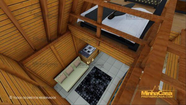 Minha casa pré fabricada modelo Lages 16