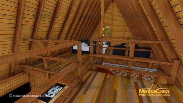 Minha casa pré fabricada modelo Lages 22