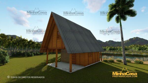 Minha casa pré fabricada modelo Lages 26