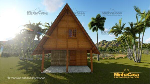 Minha casa pré fabricada modelo Lages 27