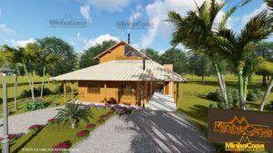Minha casa pré fabricada modelo Mato Grosso 01