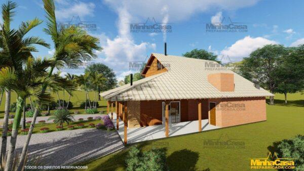 Minha casa pré fabricada modelo Mato Grosso 02