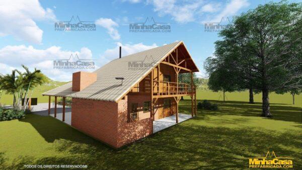 Minha casa pré fabricada modelo Mato Grosso 04