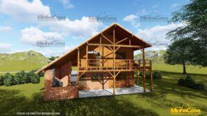 Minha casa pré fabricada modelo Mato Grosso 05