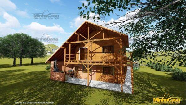 Minha casa pré fabricada modelo Mato Grosso 06