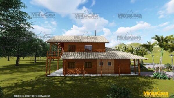 Minha casa pré fabricada modelo Mato Grosso 08