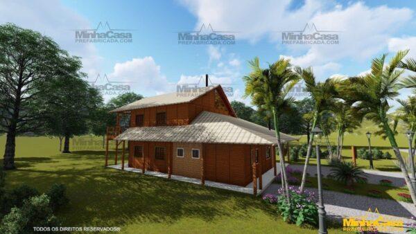 Minha casa pré fabricada modelo Mato Grosso 09