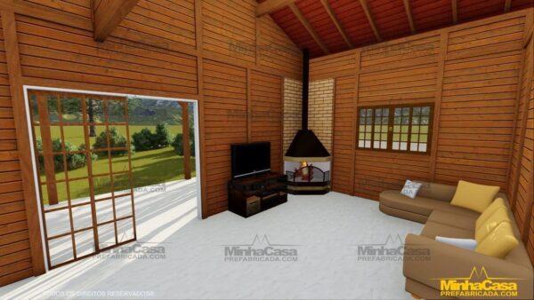 Minha casa pré fabricada modelo Mato Grosso 11