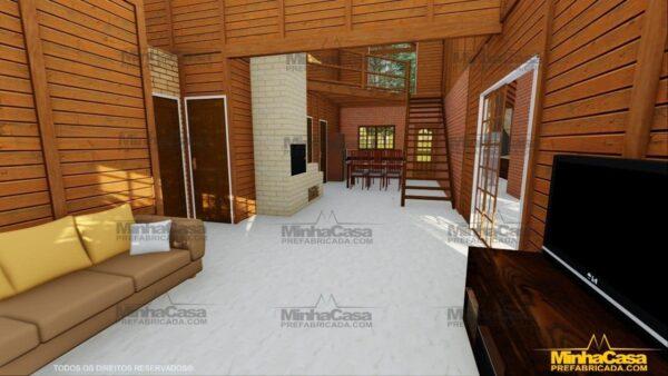 Minha casa pré fabricada modelo Mato Grosso 12