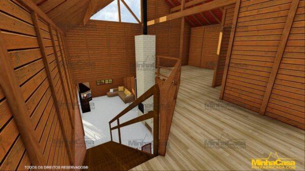 Minha casa pré fabricada modelo Mato Grosso 15