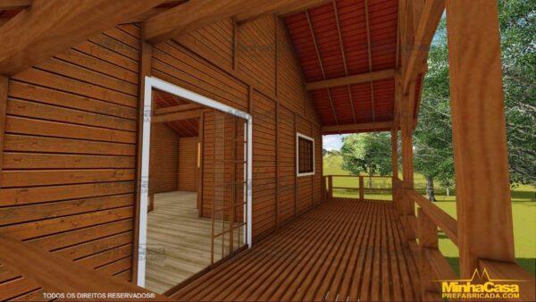 Minha casa pré fabricada modelo Mato Grosso 16