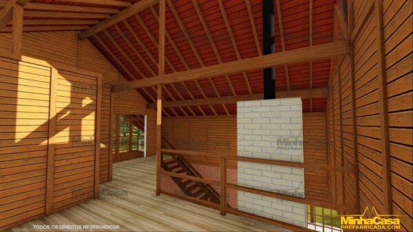 Minha casa pré fabricada modelo Mato Grosso 17