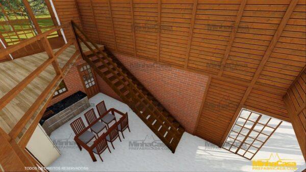 Minha casa pré fabricada modelo Mato Grosso 18