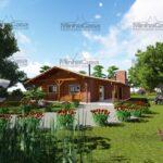 Minha casa pré fabricada modelo Mato Grosso Do Sul 01