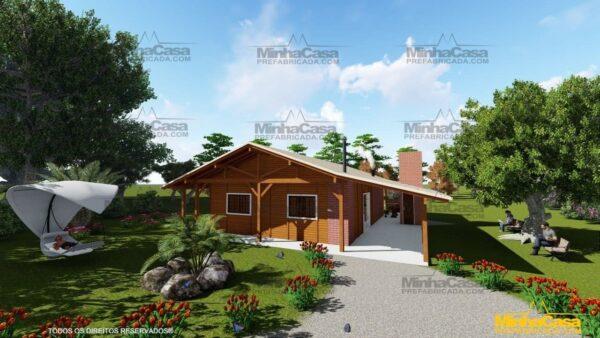 Minha casa pré fabricada modelo Mato Grosso Do Sul 02