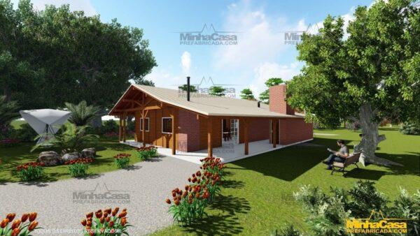 Minha casa pré fabricada modelo Mato Grosso Do Sul 03