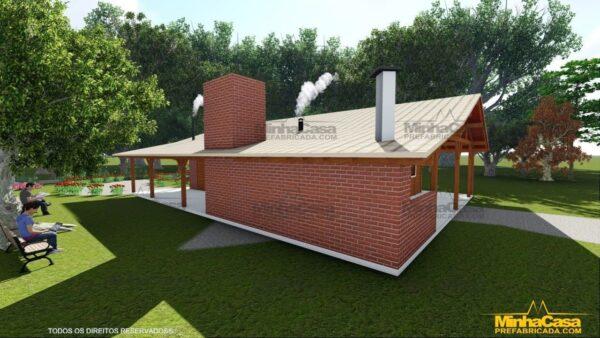 Minha casa pré fabricada modelo Mato Grosso Do Sul 04
