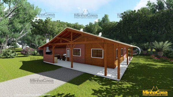 Minha casa pré fabricada modelo Mato Grosso Do Sul 05