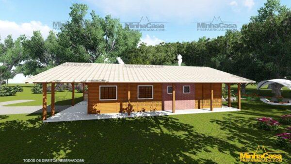 Minha casa pré fabricada modelo Mato Grosso Do Sul 07