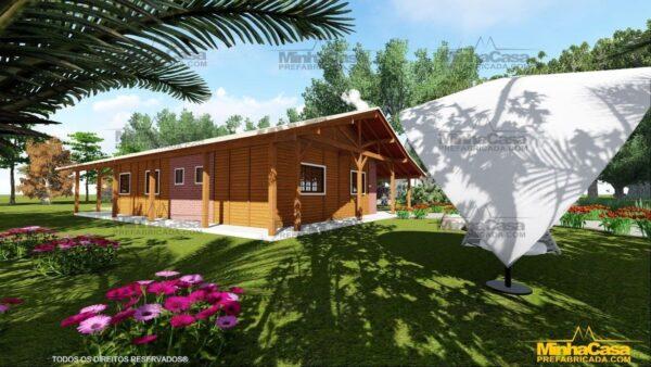 Minha casa pré fabricada modelo Mato Grosso Do Sul 09