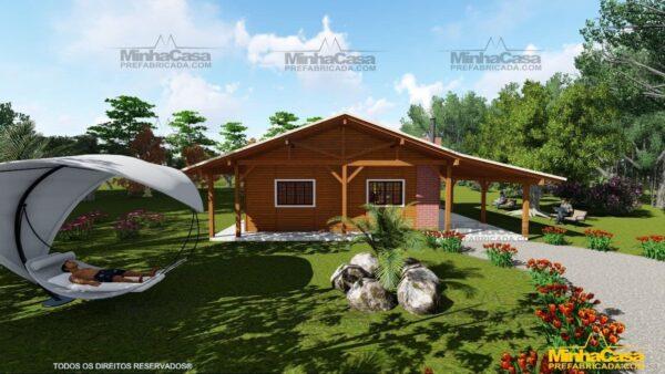 Minha casa pré fabricada modelo Mato Grosso Do Sul 10