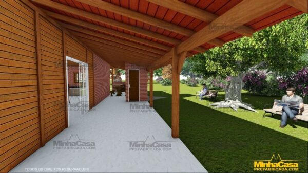 Minha casa pré fabricada modelo Mato Grosso Do Sul 11