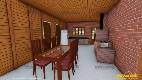 Minha casa pré fabricada modelo Mato Grosso Do Sul 12