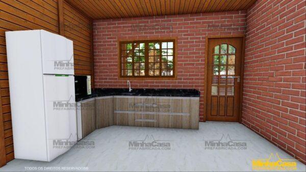 Minha casa pré fabricada modelo Mato Grosso Do Sul 13