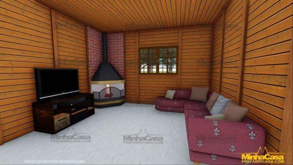 Minha casa pré fabricada modelo Mato Grosso Do Sul 14