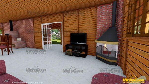 Minha casa pré fabricada modelo Mato Grosso Do Sul 15