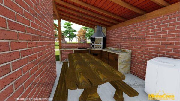 Minha casa pré fabricada modelo Mato Grosso Do Sul 16