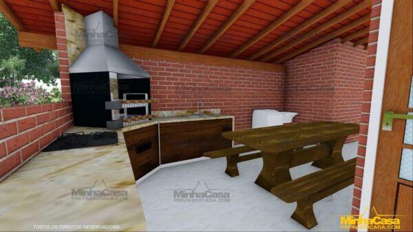 Minha casa pré fabricada modelo Mato Grosso Do Sul 17