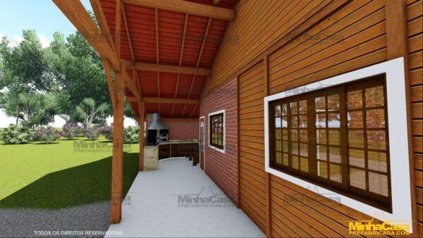 Minha casa pré fabricada modelo Mato Grosso Do Sul 18