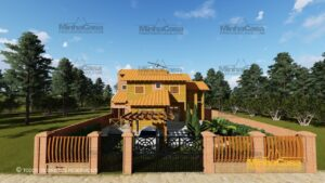 Minha casa pré fabricada modelo Minas Gerais 02