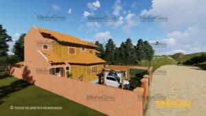 Minha casa pré fabricada modelo Minas Gerais 03
