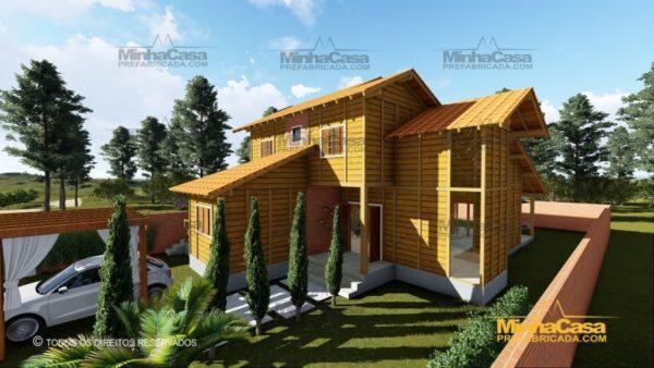 Minha casa pré fabricada modelo Minas Gerais 04