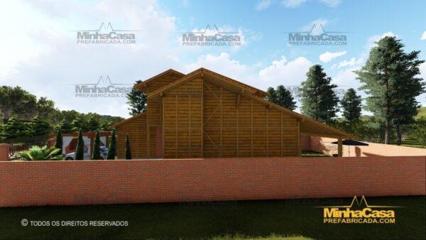 Minha casa pré fabricada modelo Minas Gerais 05