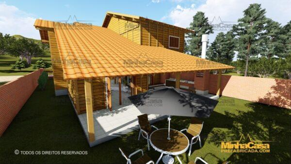 Minha casa pré fabricada modelo Minas Gerais 06