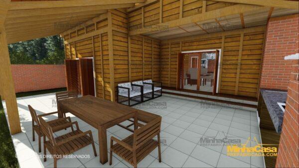 Minha casa pré fabricada modelo Minas Gerais 08